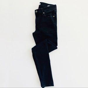 Banana Republic Black Skinny Ankle Jeans 27